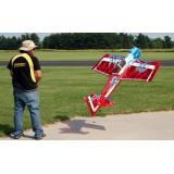 Самолёт р/у Precision Aerobatics Addiction XL 1500мм KIT (красный)