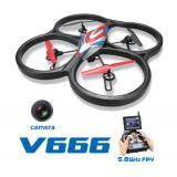 Квадрокоптер с камерой WL Toys V666 Cyclone с FPV системой 5.8ГГц CBGames