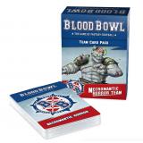 BLOOD BOWL NECROMANTIC TEAM CARDS ENG