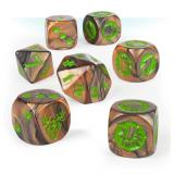 BLOOD BOWL: WOOD ELF TEAM DICE SET