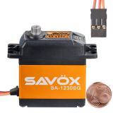 Сервопривод Savox 30-36кг/см 0,2-0,16сек/60° 40,3х20,2х45мм 79г цифровой (SA-1230SG)