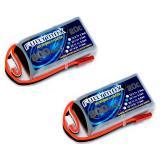 Аккумулятор Fullymax 7.4V 800mAh Li-Po 2S 20C JST (2 шт.)