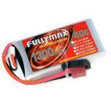 Аккумулятор Fullymax 11.1V 1300mAh Li-Po 3S 40C T-plug (250mm FPV)