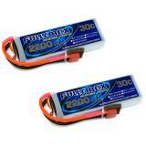 Аккумулятор Fullymax 7.4V 2200mAh Li-Po 2S 30C T-plug (2 шт.)