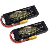 Аккумулятор Fullymax 7.4V 6500mAh Li-Po 2S2P 55C, T-plug HardCase (2 шт.)