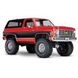 Машинка на радиоуправлении Traxxas TRX-4 Chevy K5 Blazer 1:10 4WD RTR (82076-4_RED)