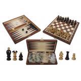 Шахматы + нарды Королевские малые № 1068