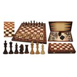 Шахматы турнирные №5 + Шашки + Нарды № 2065
