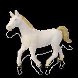 Объемный пазл  Белая лошадь (26458)