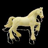 Объемный пазл Лошадь тяжеловоз белая (26529)