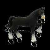 Объемный пазл Лошадь тяжеловоз черная (26526)