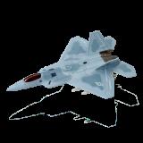 Объемный пазл Многоцелевой истребитель F-22A Raptor (Ящер) (26201)