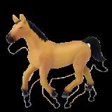 Объемный пазл  Светло-коричневая лошадь (26457)