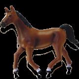Объемный пазл  Темно-коричневая лошадь (26482)