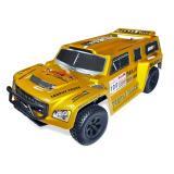 Автомобиль HSP Hummer Dakar H100 1:10 трофи - трак 4WD электро желтый RTR