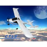 Самолет Nine Eagles CTLS электро 2.4ГГц 476мм RTF