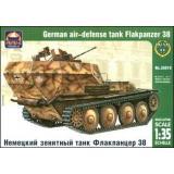 ARK35010 Flakpanzer 38(t) WWII German air-defense tank (ARK35010) Масштаб:  1:35
