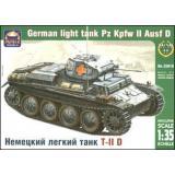 ARK35016 Pz.Kpfw II Ausf.D German light tank (ARK35016) Масштаб:  1:35