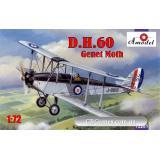 Биплан de Havilland DH.60 Genet Moth (AMO72281) Масштаб:  1:72