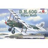 Биплан de Havilland DH.60G Gipsy Moth (AMO72286) Масштаб:  1:72