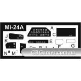 Фототравление для вертолета Mи-24A (PE7259) Масштаб:  1:72