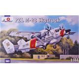 Грузо-пассажирский самолет M-28 Skytruck (AMO1461) Масштаб:  1:144