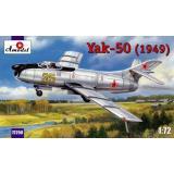 Истребитель-перехватчик Як - 50 / Yak-50 (1949) (AMO72250) Масштаб:  1:72
