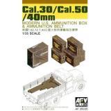 Ящики для снарядов Cal.30/Cal.50/40mm (AF35035) Масштаб:  1:35