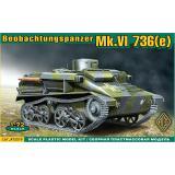 Легкий танк Mk.VI 736(e) Beobachtungspanzer (ACE72519) Масштаб:  1:72
