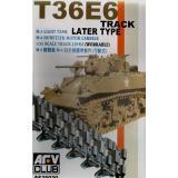 M5/M8 LIGHT TANK T36E6 TRACK (AF35020) Масштаб:  1:35