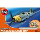 Немецкий истребитель Messerschmitt Bf109 (быстрая сборка без клея) (AIR-J6001) Масштаб: