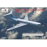 Пассажирский самолет Tupolev Tu-134 Aeroflot airlines (AMO72276) Масштаб:  1:72