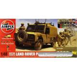 """Подарочный набор с моделью автомобиля Land Rover и фигурок """"Британские войска"""" (AIR50121) Масштаб:  1:48"""