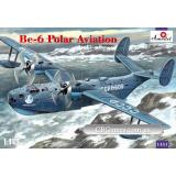 Разведывательный и патрульный самолет Бериев Бе-6 (AMO1451) Масштаб:  1:144