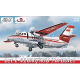 Самолет Let L-410 (AMO1467-01) Масштаб:  1:144