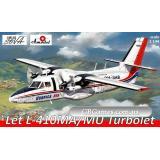 Самолет Let L-410 (AMO1467-02) Масштаб:  1:144