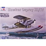 Самолет-разведчик Хоукер Оспри III/IV   (Hawker Osprey) (AMO72241) Масштаб:  1:72