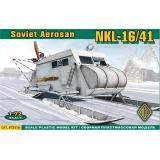 Советские бронированные аэросани НКЛ-16/41 (ACE72516) Масштаб:  1:72