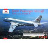 Советский пассажирский самолет Туполев Ту-104 A 1 (AMO1469) Масштаб:  1:144