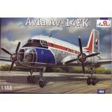 Советский самолет Avia Av-14 FK (AMO1463) Масштаб:  1:144