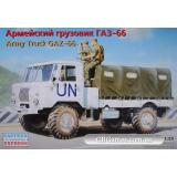 Армейский грузовик ГАЗ-66 (EE35131) Масштаб:  1:35