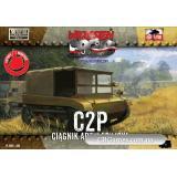 Артиллерийский гусеничный тягач C2P (FTF003) Масштаб:  1:72