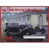 ICM35533  Typ 770K (W150) Tourenwagen, WWII German Leader's Car