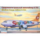 Боинг 733 авиакомпании (EE14422) Масштаб:  1:144