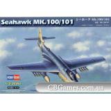 Бомбардировщик Seahawk MK.100/101 (HB87252) Масштаб:  1:72