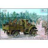 Chevrolet C15A No.11 Cab Personnel Lorry (IBG72017) Масштаб:  1:72