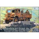 Chevrolet C15A No.13 Cab Personnel Lorry (IBG72013) Масштаб:  1:72