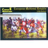 Европейские средневековые рыцари, 13-го века (CMH087) Масштаб:  1:72