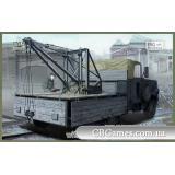 Фронтовой грузовик Einheitsdiesel с краном Bilstein (IBG35006) Масштаб:  1:35