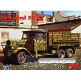 ICM35466  Henschel 33D1 WWII German army truck